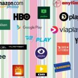 Der sker dramatiske ting på TV-fronten i Danmark, hvor streamingtjenester - både de betalte og de gratis som f.eks. DR - vinder markant ind overalt. Illustration: Wilke