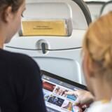 Nu bliver hurtigt wifi snart en del af flyveturen. Foto: Spies
