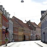 Ejendomme fjernt fra storbycentrene kan lokke med høje afkast. Men disse kan styrtdykke under en lavkonjunktur, hvor det samtidig kan være svært at sælge ejendommen igen. Billedet er fra Svendborg. Foto: Flickr/ruru