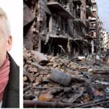 Prisen for at blande os udenom konflikter, som her krigen i Syrien, kan ikke bare være højere, men umulig, mener Jesper Lau. Foto: Scanpix