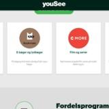 Ikke alle YouSee-abonnementer tæller med, når YouSee deler ekstragaver ud til trofaste abonnenter med sit YouSee More-loyalitetsprogram, må flere kunder konstatere.