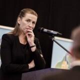 Mette Frederiksen (S) under Landdistrikternes Fællesråds årsmøde i Vejle fredag d. 16. marts 2018.