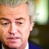 epa05851029 Leader of the Party for Freedom (PVV), Geert Wilders reacts on the election results in The Hague, The Netherlands, 16 March 2017. According to initial exit polls in the Dutch parliamentary elections, Prime Minister Mark Rutte's center-right People's Party for Freedom and Democracy (VVD) is projected to win 31 seats out of 150, and the far-right party of Wilders with 19 seats. EPA/ROBIN UTRECHT