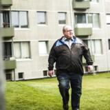 Ivan Bønneland er en af de beboere, der har brug for støtte for Landsbyggefonden. Sidste år oplevede han, at hans falstamme blev utæt, og altanerne er ligeledes et problem. De smuldrer væk og skal udskiftes.