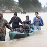 Stormen Harvey har berørt hundredetusinder af personer.