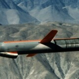 Et tomahawk-missil, som USA angiveligt brugte i angrebet på den syriske base.