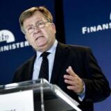 Finansminister Claus Hjort (V) mener, at Socialdemokraterne opfører sig som en protestparti.