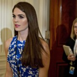 ARKIVFOTO: Hope Hicks.