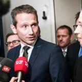 Arkivfoto: Finansminister Kristian Jensen og Mette Frederiksen.