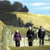 ARKIVFOTO: Den arkæologiske vagthund »Historic England« advarer om, at man har fundet ødelæggelser ved de historiske ruiner omkring Brunton Turret-sektionen af »Hadrian's Wall« nær Newcastle i form af flere end 50 huller.