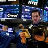 Arkivfoto. Det peger på en grøn start på aktiemarkedet onsdag, hvor regnskaber fra blandt andet Santa Fe, Brøndby IF og Egetæpper kan drysse lidt nyt over fondsbørsen.