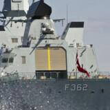 Fregatten Peter Willemoes (arkivfoto).