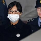 Choi Soon-sil blev for godt to uger siden dømt til 20 års fængsel ved en domstol i Seoul.