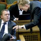 Arkivfoto: Uden vælgernes støtte til Kristian Thulesen Dahl havde Lars Løkke Rasmussen ikke haft en chance for at indtage Statsministeriet.