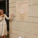 I sin rolle som seniorrådgiver for Det Hvide Hus åbnede Ivanka Trump sammen med USAs finansminister Steven Mnuchin mandag den amerikanske ambassade i Jerusalem. REUTERS/Ronen Zvulun
