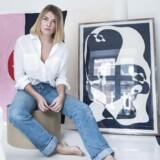 Christiane Spangsberg har fået et kommercielt gennembrud som kunstner ved at bruge instagram målrettet.