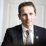 Finansminister Kristian Jensen. Fotograferet i Finansministeriet i Slotsholmsgade, den 27. februar 2017.. (Foto: Sofie Mathiassen/Scanpix 2017)