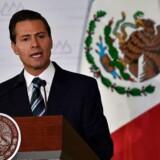 Mexicos præsident, Enrique Peña Nieto, aflyste i sidste måned et planlagt besøg i Det Hvide Hus. Det skete, fordi Trump fastholder, at Mexico skal betale for den omstridte mur.