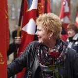 LOs formand Lizette Risgaard.