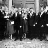 Efter et langt liv som konservativ har 75-årige Svend Åge Petersen meldt sig ud af partiet. Han kunne ikke længere stå inde for dets flygtningepolitik. Arkivbillede: Regering tiltræder bestående af Det Konservative Folkeparti, Venstre, CD og Kristeligt Folkeparti.