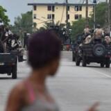 Arkivfoto. I Elfenbenskysten blev byerne Abidjan og Bouake tidligt mandag rystet af skud.