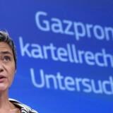 Som konkurrencekommisær står Margrethe Vestager i spidsen for EU's undersøgelser af den russiske energikoncern Gazproms bevægelser på det europæiske energimarked. Nye dokumenter antyder, at kommissionen har undladt at gribe ind over for energikoncernes bøllemetoder over for østlige EU-medlemslande.