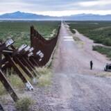 Grænsen til Mexico. Grænsen i Douglas.