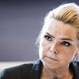 To personer er blevet sigtet, efter Inger Støjberg i sidste uge blev forsøgt overfaldet.