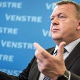 »Jeg foretrækker at Socialdemokratiet er i opposition. Men jeg respekterer dem mere, når de sidder i regering,« siger Lars løkke Rasmussen på Venstres landsmøde.