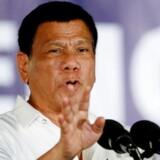 Filipipinernes præsident, Rodrigo Duterte, er ikke bange for at lægge sig ud med kritikere og har bl.a. kaldt Barack Obama for en horeunge.