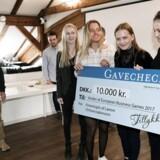Det blev nattelivs appen, Cirkl, udviklet af Camilla Hermann, Ida Mortensen, Rosanna Hjort, Kristin Nielsen og Laura Clausen fra Frederiksborg Gymnasium, der vandt European Business Games 2017.