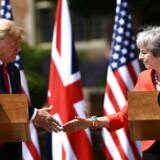 Den amerikanske præsident, Donald Trump, og den britiske premierminister, Theresa May, er blevet enige om, at de to lande skal indgå en handelsaftale, når Storbritannien forlader EU.