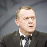 Arkivfoto. Statsminister Lars Løkke Rasmussen. (Foto: Asger Ladefoged/Scanpix 2017)