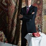 Joen Bille er den afsatte diktator i monologen »Det som diktatoren ikke sagde«. Foto: Thomas Petri