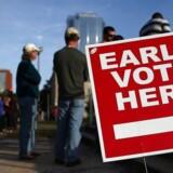 Amerikanerne går til valgurnerne i dag. Men resultatet kan trække ud.