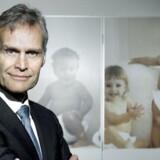 Hovedkontor og laboratorium for den internationale sædbank Cryos i Aarhus. Cryos - international sperm bank. Grundlægger og direktør Ole Schou.