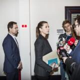 »Vores holdning er den, at der er behov for en bred opbakning til flygtninge- og udlændingepolitikken i Danmark,« siger Mette Frederiksen.