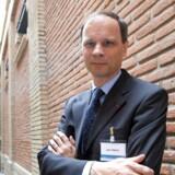 Den franske økonom Jean Tirole fra universitetet i Toulouse fik mandag årets Nobelpris i økonomi for sit arbejde med markedsregulering. Foto: Scanpix