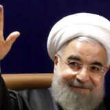 Irans præsident, Hassan Rouhani.