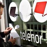 I disse dage skiftes alle Sonofon- og Cybercity-logoer ud med det fælles Telenor.