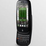 Der er fuldt tastatur foruden den trykfølsomme skærm på den nye Palm Pre. Foto: Palm