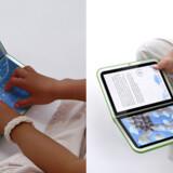 Den nye grønne børne-PC kommer i 2010 en redesignet udgave med bl.a. touch screen.  Pressefoto