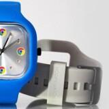 Dette ur er blot et reklameur fra Google. Deres kommende smartur vil være noget mere avanceret.
