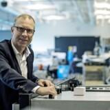 Keld Thorsen, koncernchef i Glunz & Jensen, der leverer udstyr til den grafiske industri, vurderer ikke, at farven på regeringen efter et valg har nogen betydning for virksomheden. Det afgørende er derimod de internationale konjunkturer. Foto: Christian Liliendahl