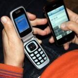 Der er snart ikke flere danskere, som ikke er kunder hos de store mobilselskaber. Foto: Colourbox