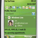 Styresystemet fra Symbian.