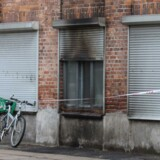 Politi og brandvæsen måtte søndag d. 16 august 2015 kort før middag rykke ud til en brand i Islamisk Trossamfunds bygning i Københavns nordvestkvarter.