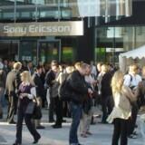 Sony Ericssons ejere bliver i mobilselskabet. Foto: Thomas Breinstrup