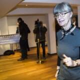 Onsdag d. 9 marts 2016 afholdtes det sidste og afgørende repræsentantskabsvalg i Nykredit ved Comwell i Roskilde. Her næstformand i Foreningen Nykredit, Nina Smith. (Foto: Nikolai Linares/Scanpix 2016)