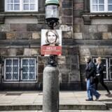 Statsminister Helle Thorning-Schmidt har udskrevet folketingsvalg. Valgplakat.